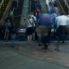 Commuters on Escalators – Timelapse Boston