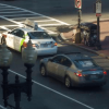 Traffic, intersection – Timelapse Boston