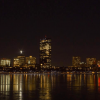 Boston at night over charles – Timelapse Boston